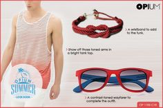 Cool #SummerLook for the dudes.