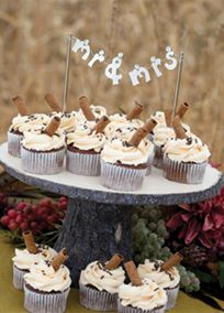 """Your wedding day will be a banner day, so display your new titles proudly! Sweetly styled letters spell out """"Mr & Mrs"""" with large rhinestone accents above each letter. The nickel-plated cake picks can insert into cupcakes or a wedding cake for versatile decorating. Features and Facts: Size: Size: 7"""" W x 6"""" T Weight: .15 pounds"""