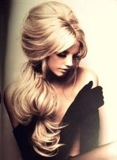 Brigitte Bardot-hair! Doin this for the wedding in a couple of weeks