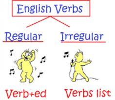 Regular and Irregular Verb