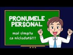 PRONUMELE PERSONAL - explicat creativ cu exemple - seria Gramatica simplu - YouTube