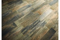Ceramic tile that looks like wood- perfect for a shower wall and/or mudroom.