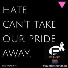 Solidarity with Orlando #OrlandoUnited #LoveWins #StandWithOrlando #WeAreOrlando #LGBTPrideMonth #LGBTQIA