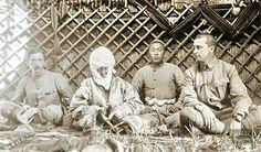 Kyrgyzstan, Carl Gustav Mannerheim with Kurmanjan Datka- Kyrgyz Queen Central Asia, Kazakhstan, World History, Historical Photos, Old Photos, Finland, Warriors, Oriental, Archive