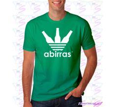 Me gustan las Camisetas frikis y un ejemplo es esta de Abirras