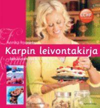 Karpin leivontakirja (Sidottu)  Annika Rogneby  Kirjan kirjoittanut Annika Rogneby on noudattanut vhh-ruokavaliota (joka sisältää vähän hiilihydraatteja ja runsaasti rasvaa) kolme vuotta.    Sen ansiosta hän on tuntenut olonsa varsin terveeksi ja hyvinvoivaksi, mutta hän kaipasi leipomista ja vastaleivottujen leivonnaisten tuoksua. Siksi hän päätti laatia reseptejä terveellisistä, niukasti hiilihydraatteja sisältävistä aineksista. Kirjan reseptit eivät sisällä lainkaan sokeria ja jauhoja…