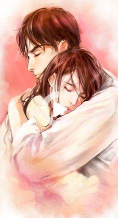 Cute Couple Drawings, Cute Couple Art, Anime Couples Drawings, Anime Couples Manga, Anime Girls, Couple Manga, Love Cartoon Couple, Cute Love Cartoons, Anime Love Couple