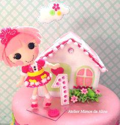 topo de bolo lalaloopsys   #topodebolo #lalaloopsy #dolls