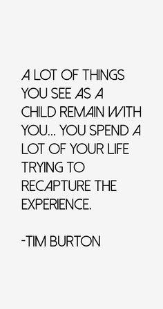 Tim Burton Quotes & Sayings