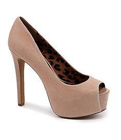 5e9e406b14 Jessica Simpson Carri Platform Pumps #Dillards Nude Color, Platform Pumps,  Dillards, Girls