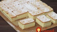 pl :: Napoleonka w 15 minut Fun Desserts, Delicious Desserts, Yummy Food, Kolaci I Torte, Sandwiches, Ice Cream Cookies, Cake Bars, Polish Recipes, Savoury Cake