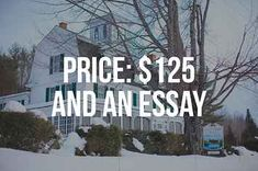 essay contests for houses
