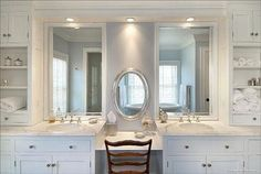 "72"" bathroom vanities with makeup area 