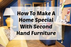 How To Make A Home Special With Second Hand Furniture