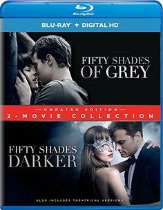 Fifty Shades of Grey/Fifty Shades Darker: 2 Movie Collection (Blu-ray) Sam Taylor Johnson, Eric Johnson, Dakota Johnson, Fifty Shades 2, Jack Hyde, Jennifer Ehle, Luke Grimes, Kim Basinger, Fifty Shades Darker