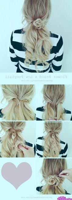 Cheveux Spirale coiffures aide Braider queue de cheval lichens Styling-Accessoires