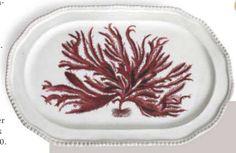 John Derian Seaweed platter.