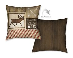 Country Cabin I Decorative Pillow – Laural Home