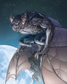 Man-Bat by Tom Raney & salvatoreaiala