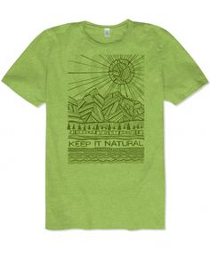 Top of the World NCAA Mens Sustainable Organic Cotton and Recycled Polyester Gray Heather Short Sleeve Tee