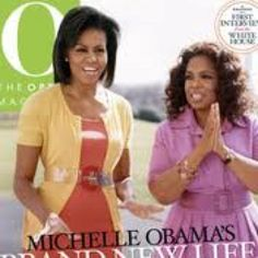 Michelle Obama and Oprah