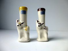 Pair Rio Hondo Deer Candle Holders Candlesticks by TheRecycleista,