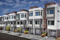 Our gorgeous Palisades townhomes offer it all: luxury features, rooftop decks, private balconies and stunning bay and city views. Exclusive Homes, Rooftop Terrace, Bedroom Layouts, Back Patio, New Homes For Sale, Condominium, Nice View, Townhouse, San Francisco
