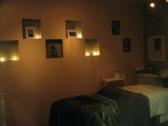 My tranquil Esthetician Room....