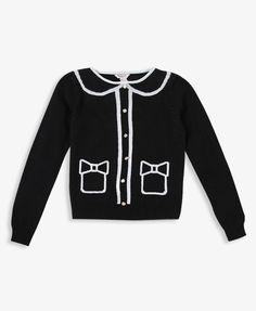 Girls Cardigan Pattern Sweater