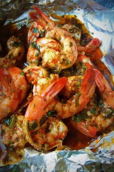 Spicy Cilantro Garlic Shrimp - Pamela Cooking Food