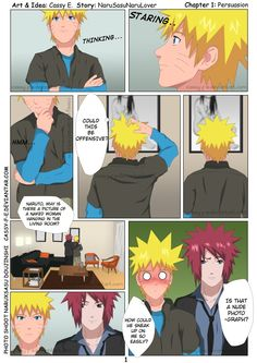 NaruxSasu Doujinishi Page1 by Cassy-F-E on DeviantArt
