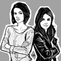 A lil sketch of Sanvers from Supergirl