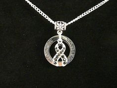 Melanoma Cancer Survivor Crystal Necklace by ABaubleAndCardShop