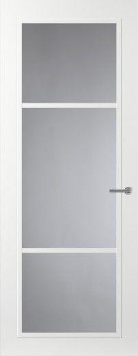 Svedex glasdeur Front FR515 Diepgang in design Strakke glaslatten, nieuwe krachtige diepe lijnen - Unieke binnendeuren voor een persoonlijke stil en verfrissende look in uw interieur  #mooierwonenmetsvedex