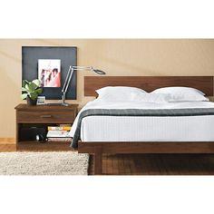 Anders Wood Bed - Modern Beds & Platform Beds - Modern Bedroom Furniture - Room & Board