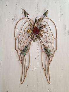 Metal Angel Wings Wall Decor large angel wings wall decor | angel wings wall decor, angel wings