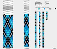 off loom beading techniques Crochet Bracelet Pattern, Crochet Beaded Bracelets, Bead Crochet Patterns, Bead Crochet Rope, Beaded Bracelet Patterns, Loom Patterns, Beading Patterns, Beaded Crochet, Loom Bracelets