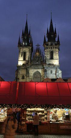 Christmas Market, Prague Old Town, Czech Republlic