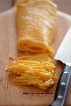 キレイに仕上がる薄焼き卵・錦糸卵。 by 栁川かおり   レシピサイト ...