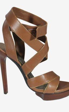 Lanvin Brown Sandal