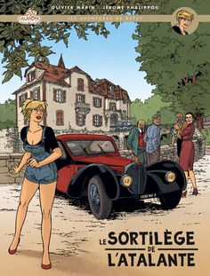 """Le mois prochain sortira une version grand format limitée à 800 exemplaires de la première aventure de Betsy """"Le sortilège de l'Atalante""""...."""