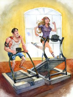 tips for using a treadmill to train for mountain trails. someday the mountains will thaw, right?