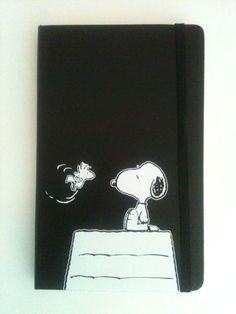 Moleskine Blank Journal Unused Peanuts Snoopy Woodstock Charles Schulz notebook #Moleskine
