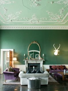Your Daily Dose of Design Eye Candy: Seriously Showstopping Ceilings | Apartment Therapy