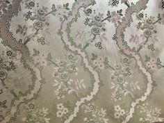 Please note that some of the fabrics featured in this section are available for immediate delivery and others have a delivery date after May 2020 due to the current logistical restrictions of the Pandemic. Fabrics shipping after May . Brocade Fabric, Satin Fabric, Fancy Chair, Victorian Costume, Floral Motif, Pattern Making, Damask, Mint Green, Swatch