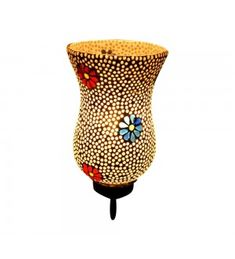 Decorative Mosaic Wall Lamp- Flowers & Dew