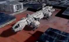 Millennium Eagle space 1999