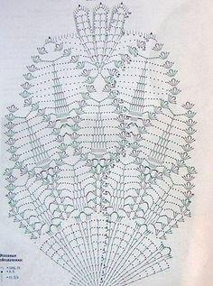 Crochet doily solo schema