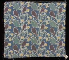 Furnishing fabric | Charles Francis Annesley Voysey | V&A Search the Collections
