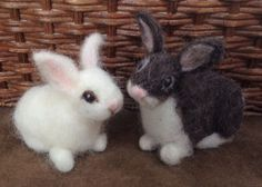 Claudia Marie Felt: How to Make a Needle Felted Bunny and Giveaway